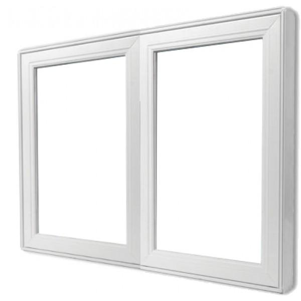 Fenster zweiflügelig festverglast